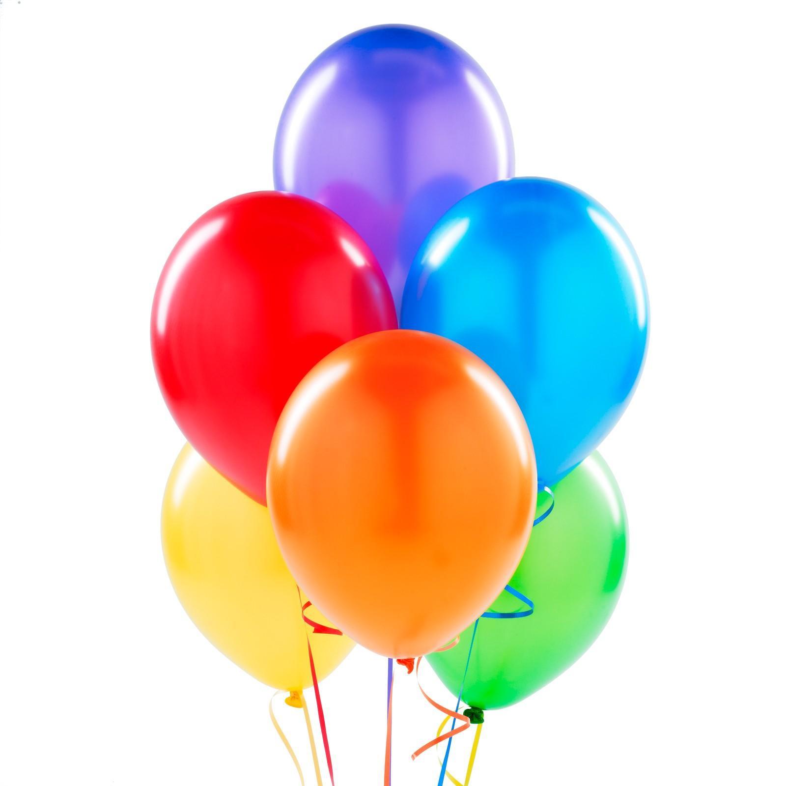 globo de latex con helio